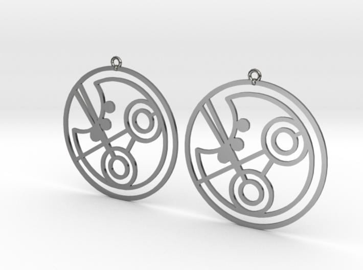 Piper - Earrings - Series 1 3d printed