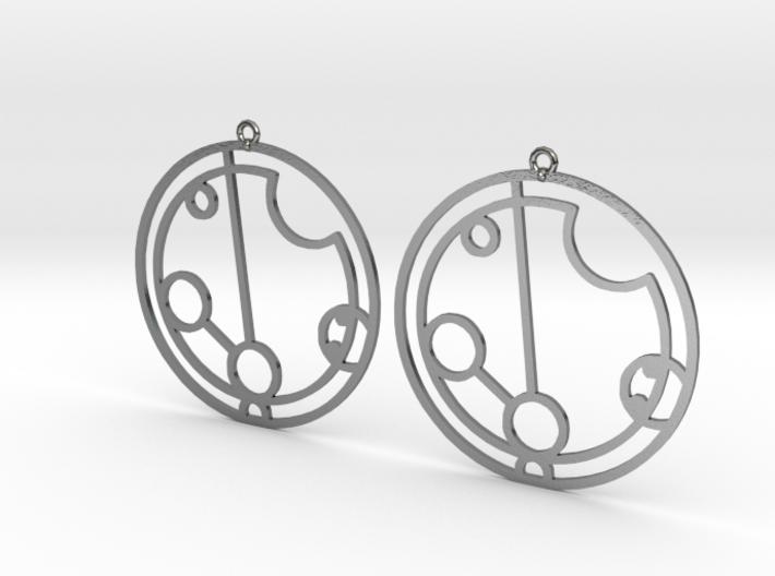 Payton - Earrings - Series 1 3d printed
