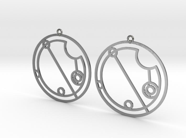 Olivia - Earrings - Series 1 3d printed