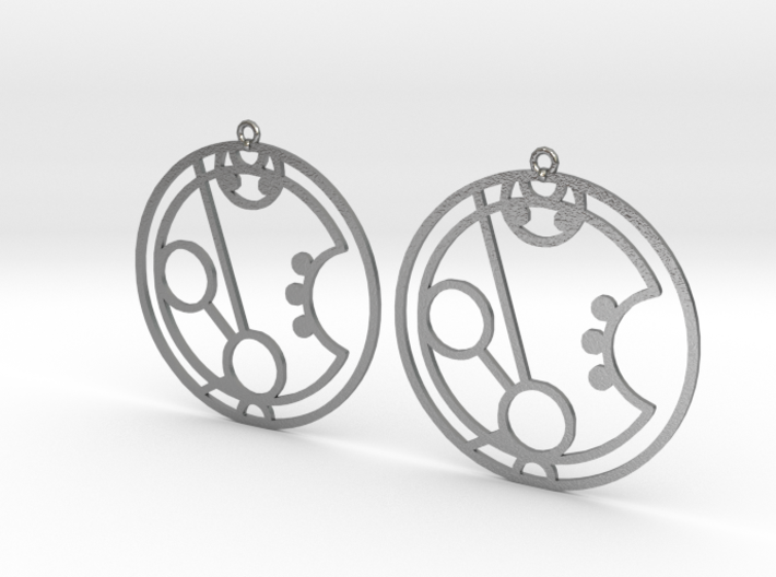 Maryam - Earrings - Series 1 3d printed