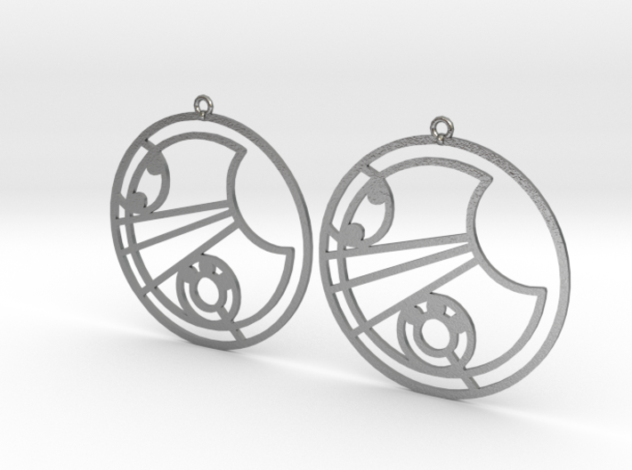Lucy - Earrings - Series 1 3d printed