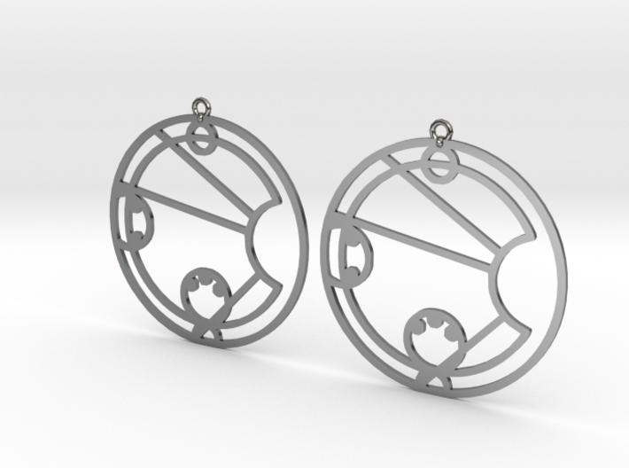 Lacey - Earrings - Series 1 3d printed