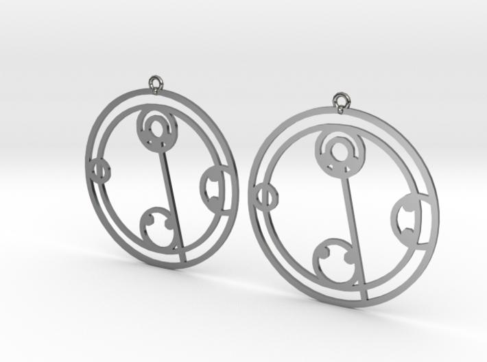 Kylie - Earrings - Series 1 3d printed