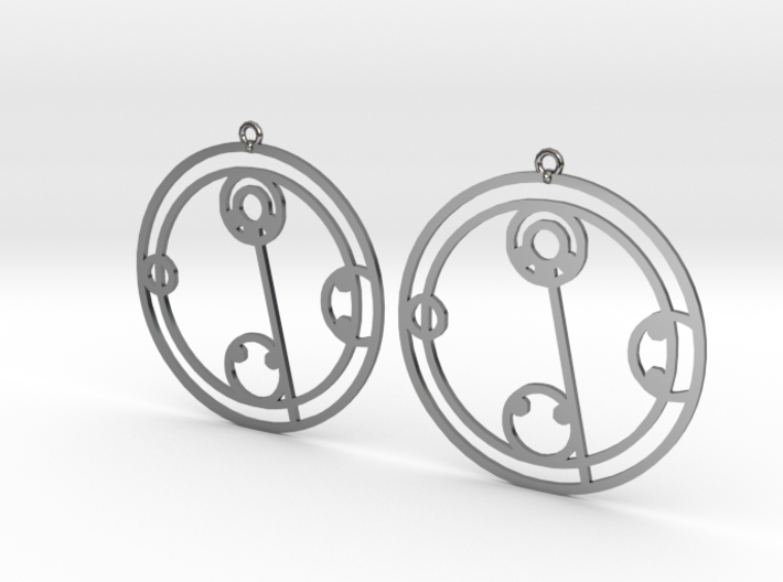 Kylie - Earrings - Series 1 3d printed
