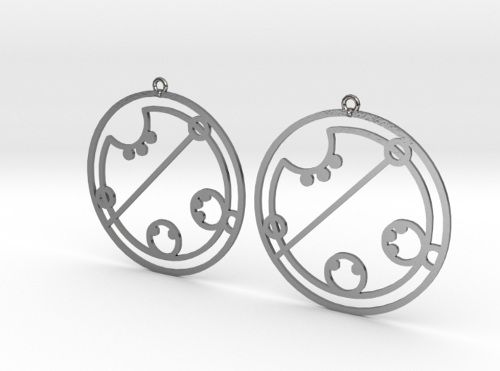 Claire / Klaire - Earrings - Series 1 3d printed