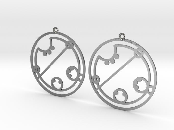 Claire / Klaire - Earrings - Series 1 3d printed