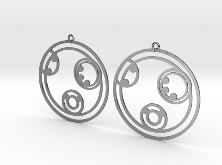 Kelly - Earrings - Series 1 3d printed