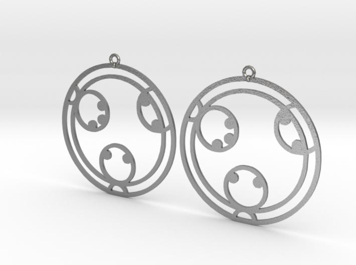Kayla - Earrings - Series 1 3d printed
