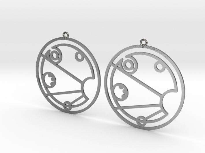 Isobel - Earrings - Series 1 3d printed