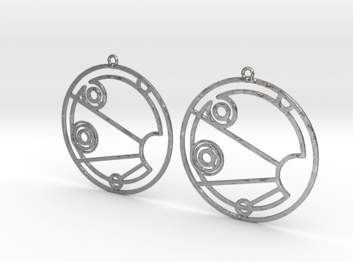 Isabelle - Earrings - Series 1 3d printed