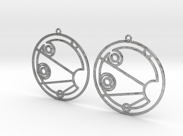 Isabelle - Earrings - Series 1 3d printed
