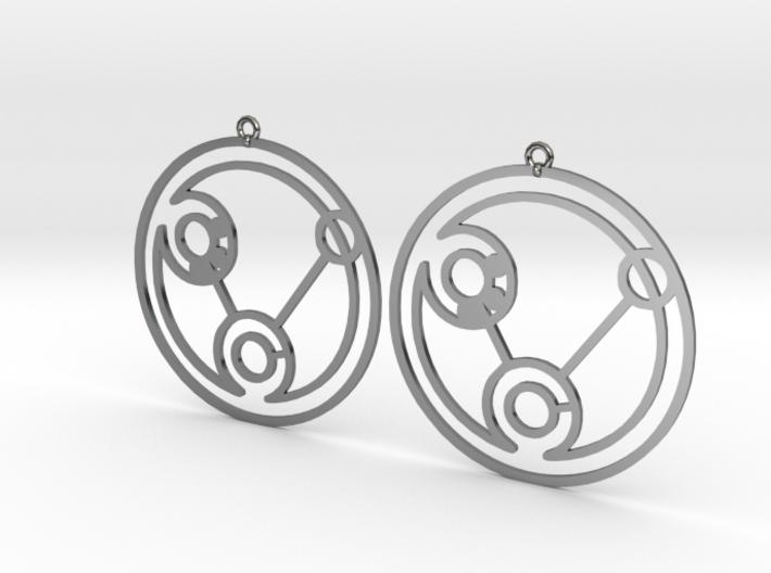 Heidi - Earrings - Series 1 3d printed
