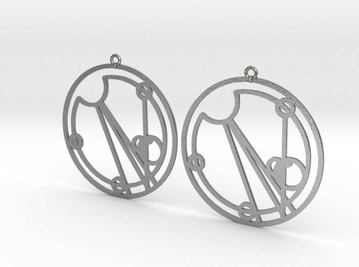 Eloise - Earrings - Series 1 3d printed