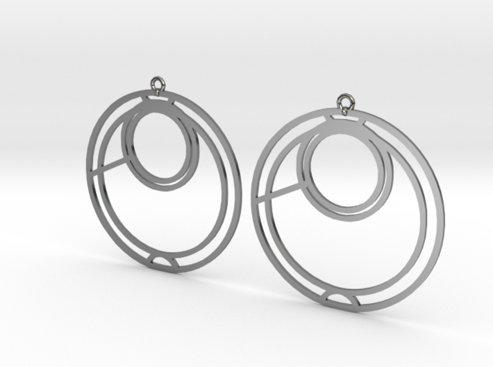 Anna - Earrings - Series 1 3d printed