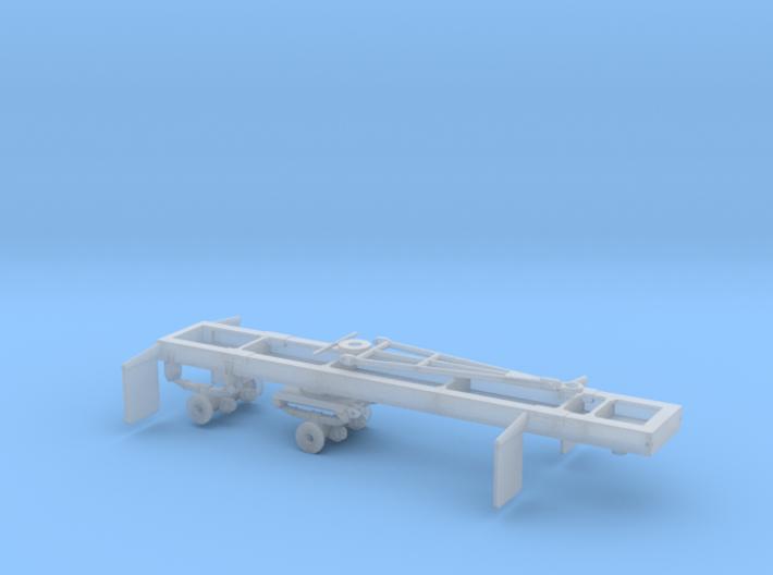1/87th HO Scale Short log Logging trailer 3d printed