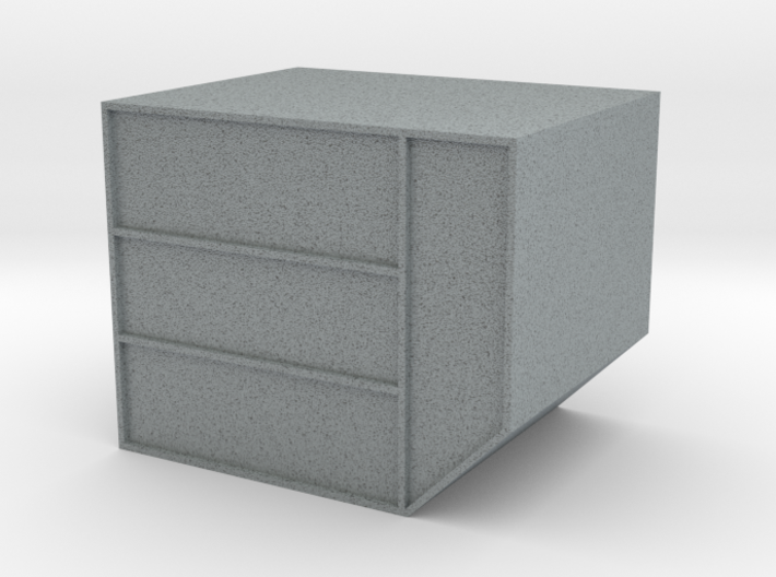 N LD-3 Air Cargo Container 1:160 3d printed