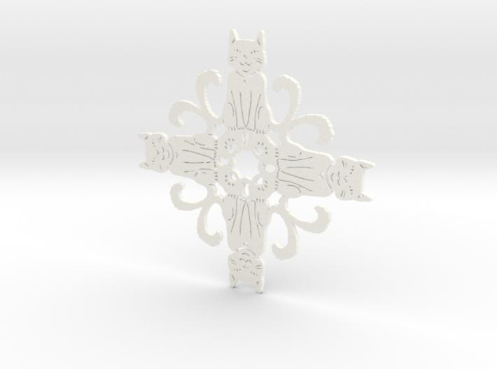 Catflake #2 3d printed