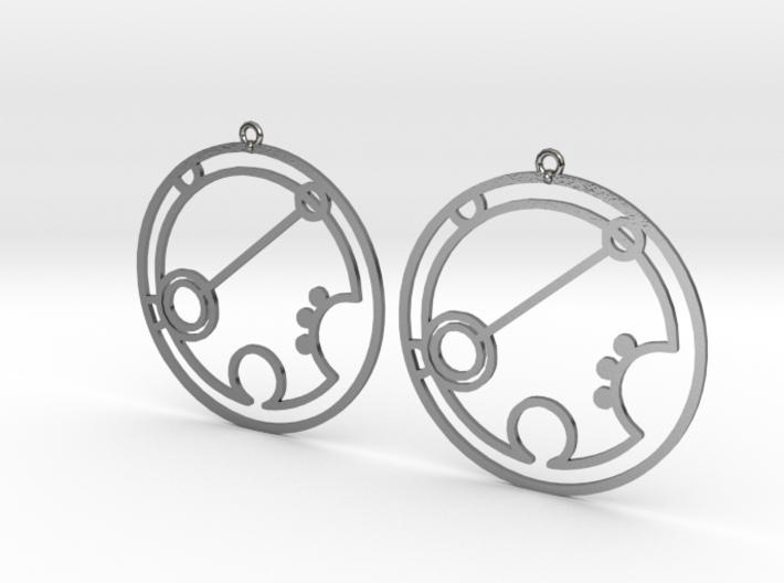Brianna - Earrings - Series 1 3d printed