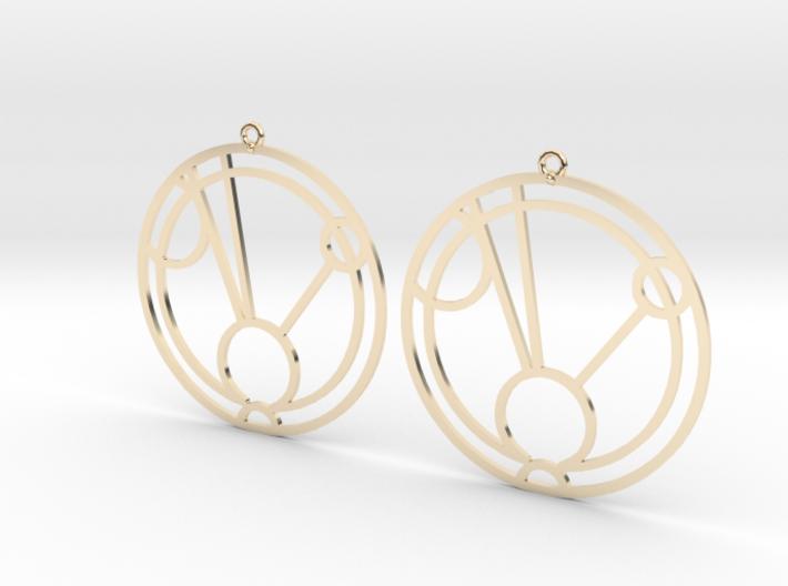 Faith - Earrings - Series 1 3d printed