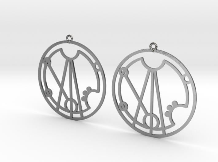 Gracie - Earrings - Series 1 3d printed