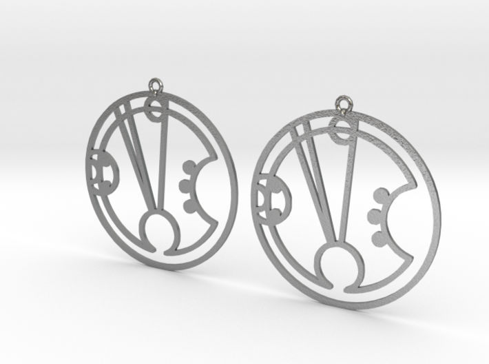 Freya - Earrings - Series 1 3d printed
