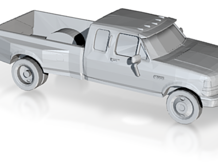 1/87 1994 Ford F-Series Dually 3d printed