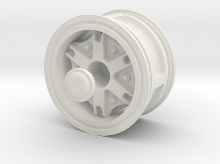 Wheel-front-wide2 3d printed