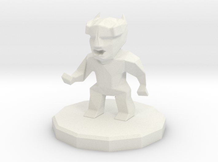 Enemy small demon 3d printed
