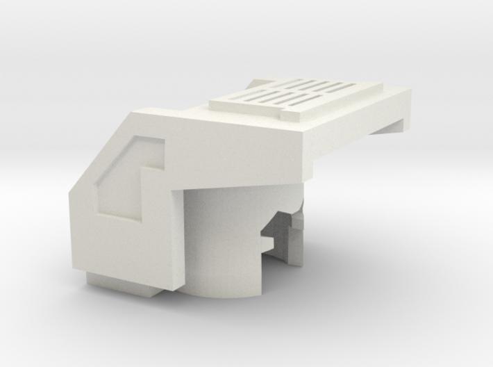 Robohelmet: Trucker Hoodie 3d printed