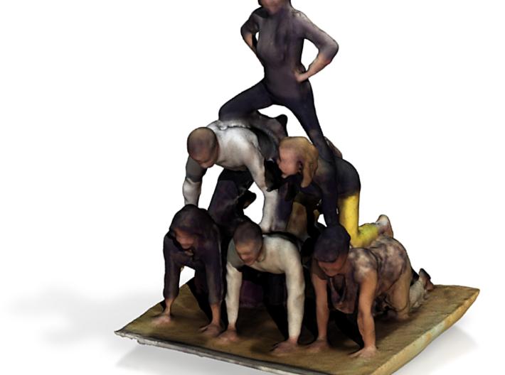 Pyramid Scan 3d printed
