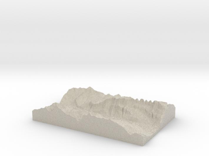 Model of Quinten 3d printed