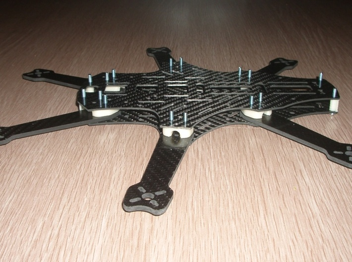 Grasshopper 300FPV Spacers set 3d printed