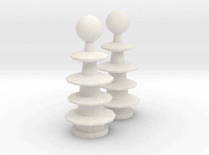 Tesla Coils 3d printed