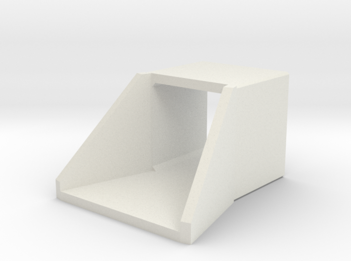 N/H0 Box Culvert Flared Headwall (size 1) 3d printed