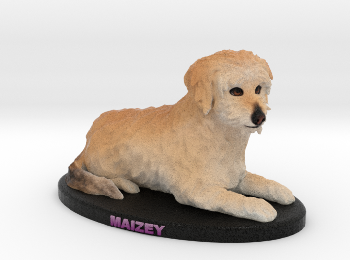 Custom Dog Figurine - Maizey 3d printed