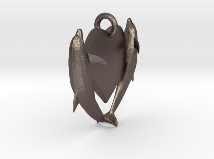 Delphine Necklace Medium 3d printed