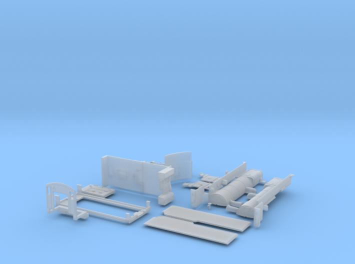 D3 body kit tender powered variation 3d printed