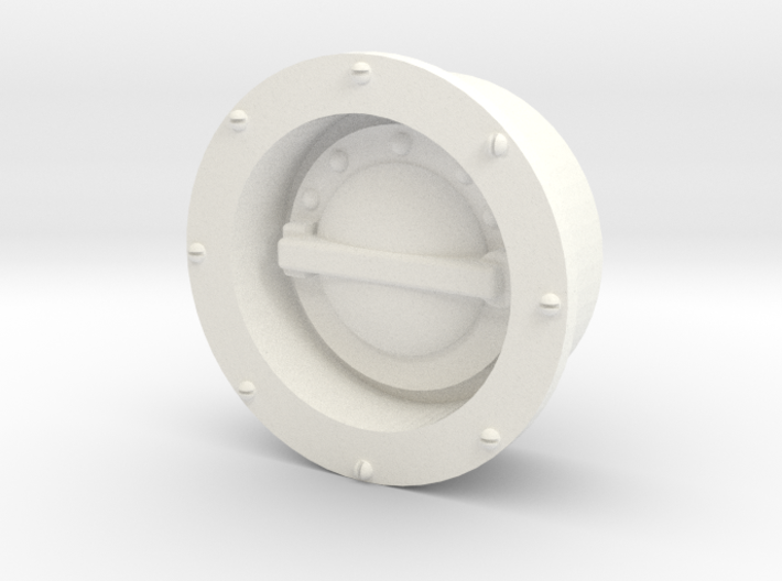 Whirlwind Fuel Filler 3d printed