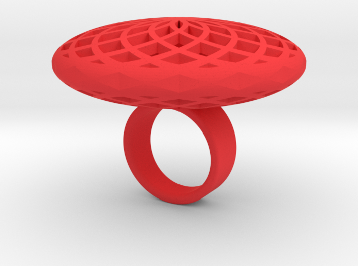 SACRED CIRCLE RING X-Small 3d printed