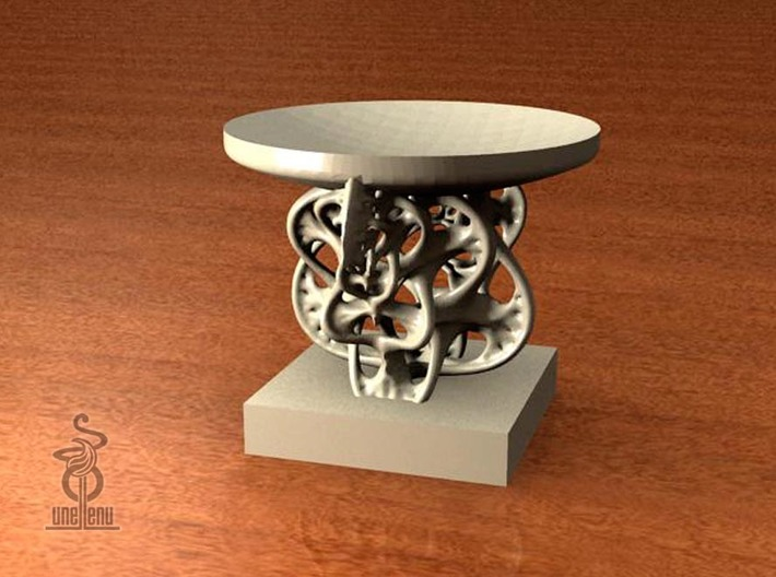 Candle holder - Woven fractal 3d printed