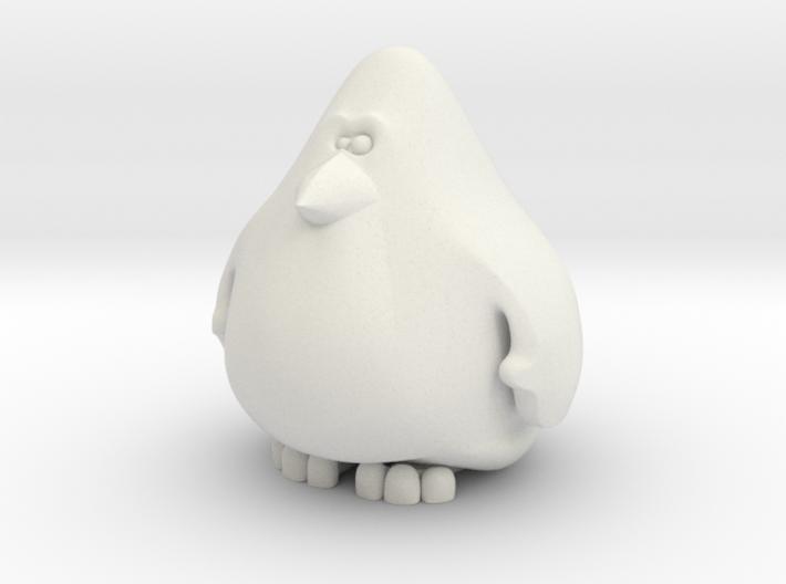 Penguin 6cm 3d printed