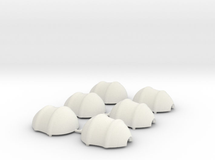 Loose Shells Millimeters 3d printed