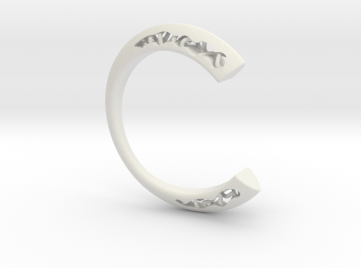 LOFF - C-wire ring 3d printed