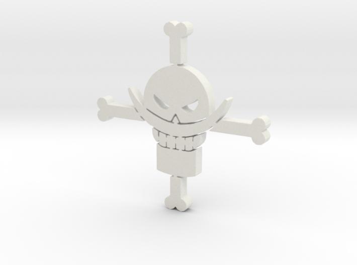 White Beard - One Piece 3d printed