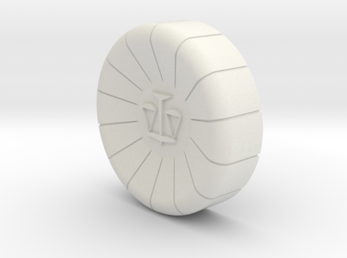 Phoenix Wright Ace Attorney Cosplay Defense Badge 3d printed