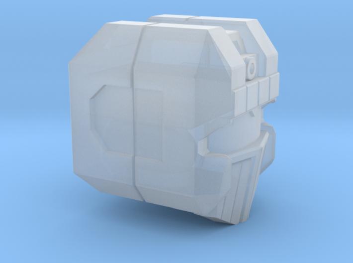"Aerial Tactician Head ""G1"" 3d printed"