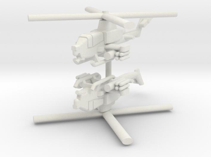1/285 AH-1Z Viper (x2) 3d printed