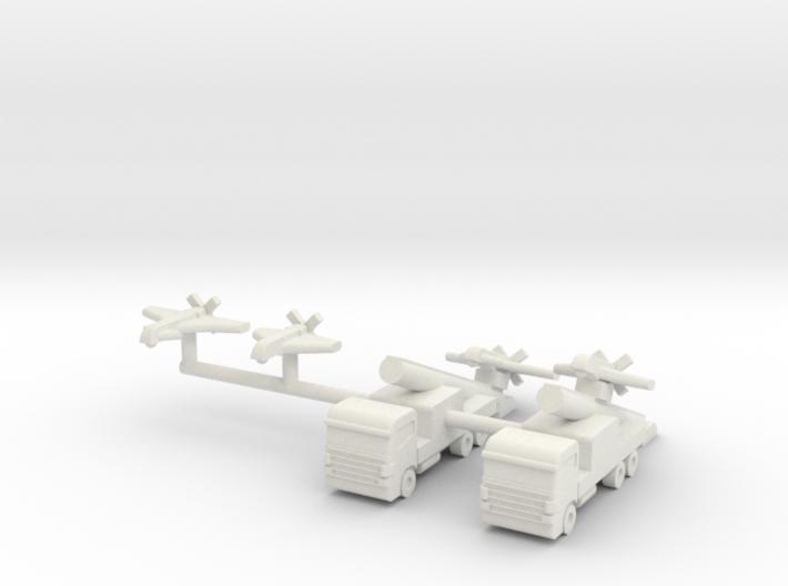 1/285 SAGEM Sperwer / Sperwer B UAV 3d printed