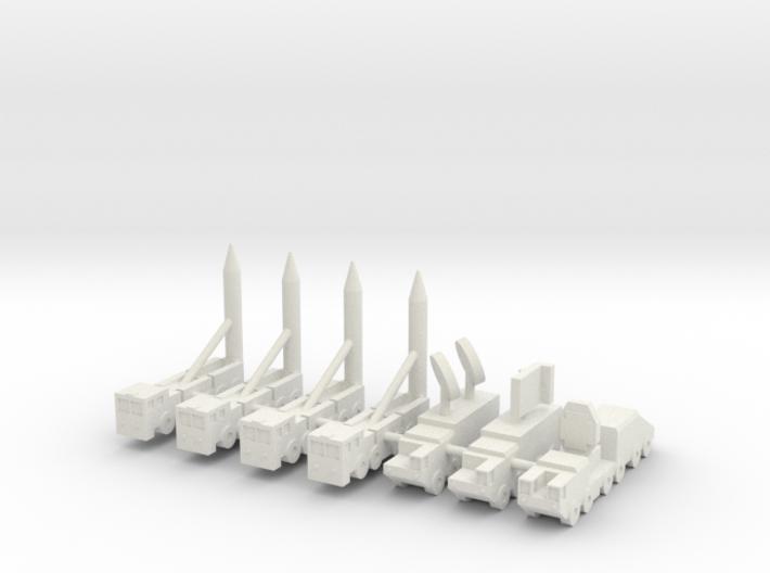 1/285 DF-21C MRBM 3d printed