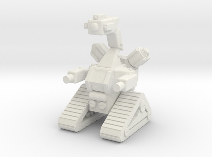 1/87 Scale Tracked Sentry Robot 3d printed